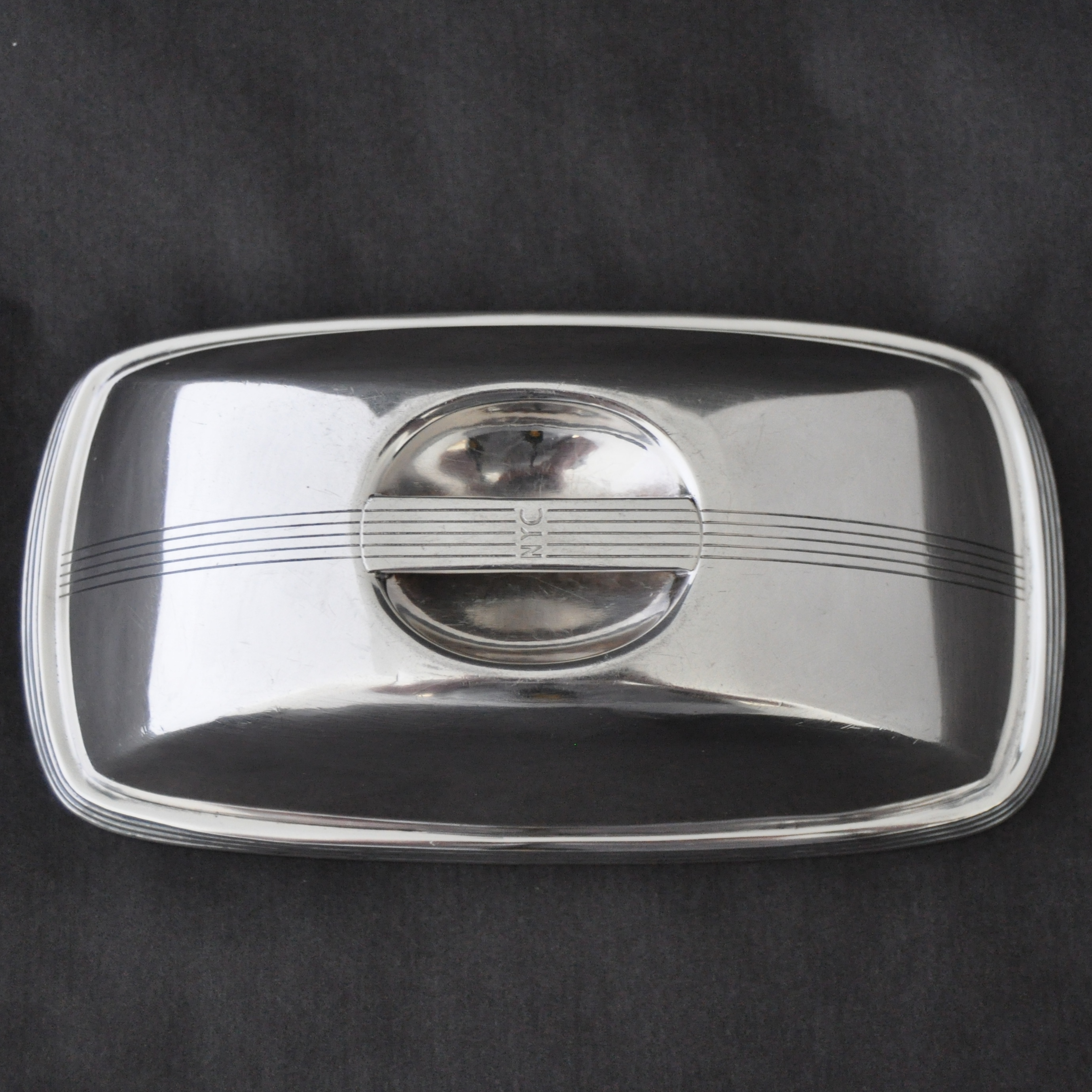 Images For Nyc 1936 Mercury R B Small Oval Silver Hot Food