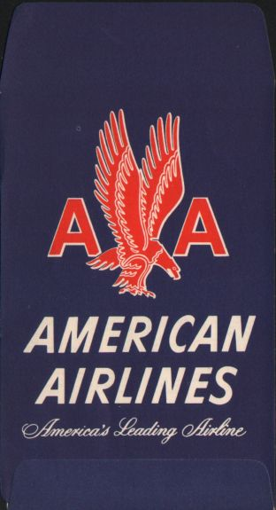Aa Form T26u Ticket Jacket Envelope And Boarding Pass