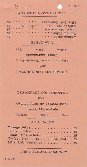 pullman gn breakfast table tent menu 20150223054ebf0618737c